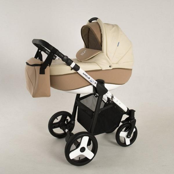 Детская коляска NoordLine Amelis 2 в 1 (кремовый)