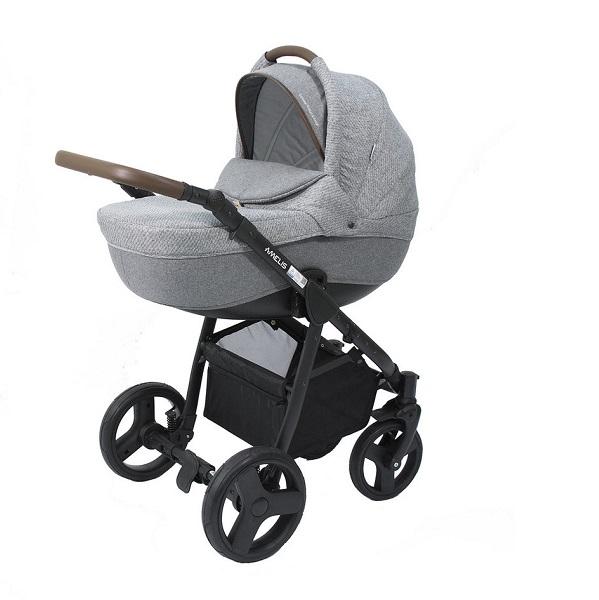 Детская коляска NoordLine Amelis 2 в 1 (серый)