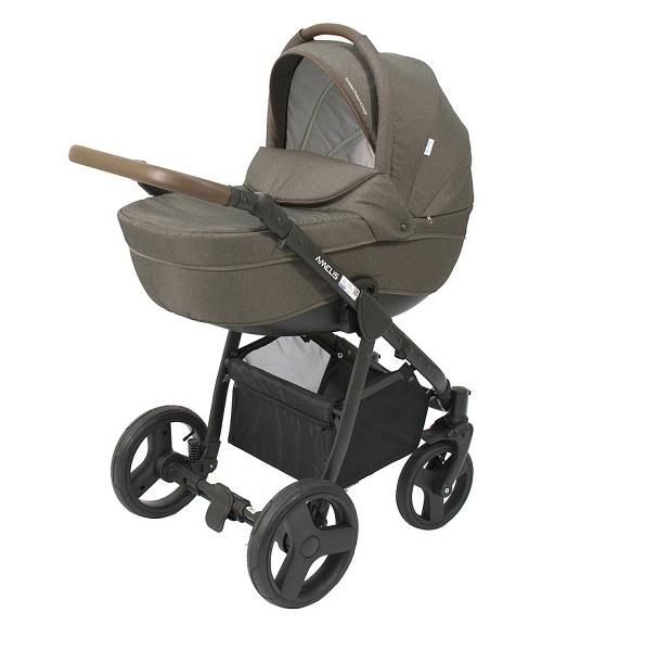 Детская коляска NoordLine Amelis 2 в 1 (хаки)