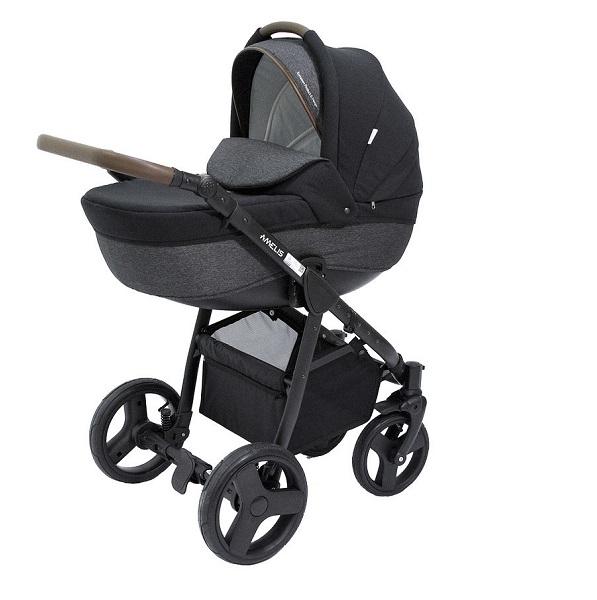 Детская коляска NoordLine Amelis 2 в 1 (черный)