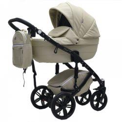 Детская коляска Rant Aura S Line 2 в 1, эко-кожа (бежевый)