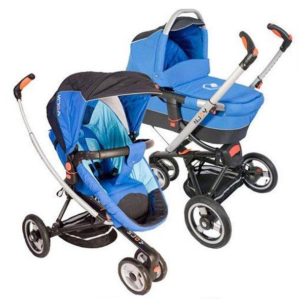 Детская коляска Jetem N-Joy 2 в 1 (синий)