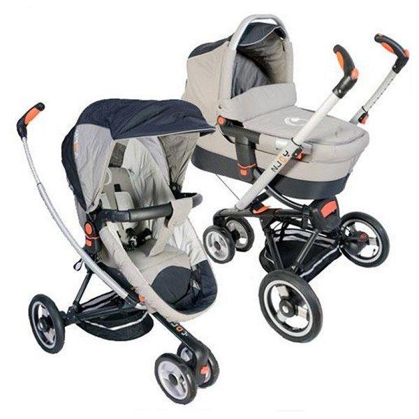Детская коляска Jetem N-Joy 2 в 1 (серый)