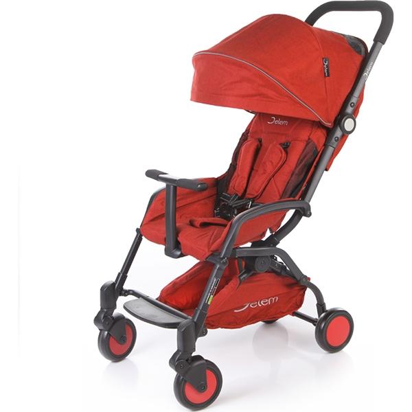 Прогулочная коляска Jetem Muzzy (красный)