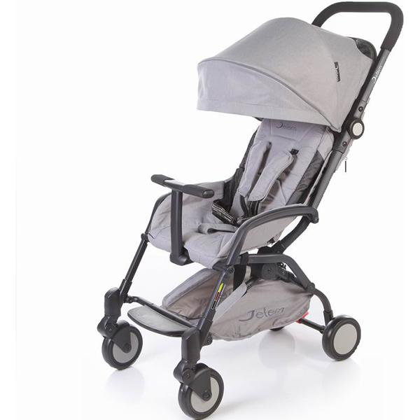 Прогулочная коляска Jetem Muzzy (серый)