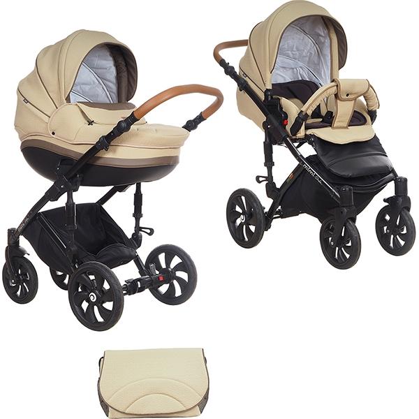 Детская коляска Tutis Mimi Style 2 в 1 (кремовый)