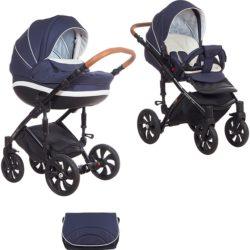 Детская коляска Tutis Mimi Style 2 в 1 (темно-синий)