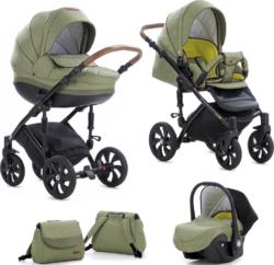 Детская коляска Tutis Mimi Style 3 в 1 New 2019 №326 (Оливковый)