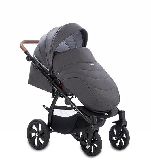 Детская коляска Tutis Aero 2 в 1 (серый)