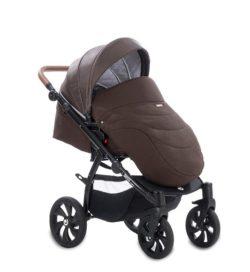 Детская коляска Tutis Aero 2 в 1 (темно-коричневый)