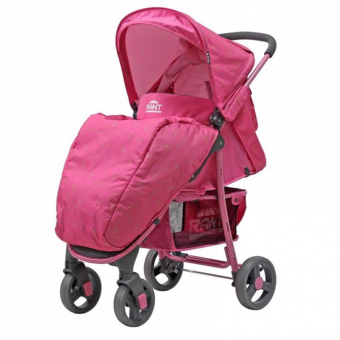 Прогулочная коляска Rant Kira, 2017 (розовый)