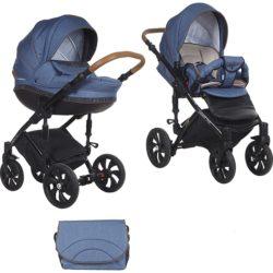 Детская коляска Tutis Mimi Style 2 в 1 (джинсовый)