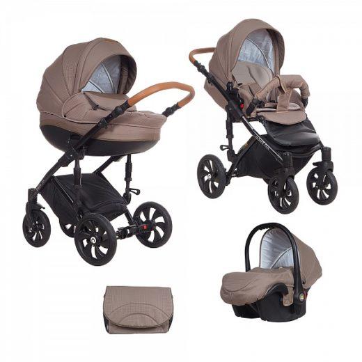 Детская коляска Tutis Mimi Style 3 в 1 (светло-коричневый)