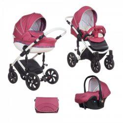 Детская коляска Tutis Mimi Style 3 в 1 (розовый)
