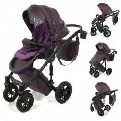 Детская коляска Noordline Stephania 2 в 1 (фиолетовый)