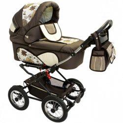 Детская коляска Reindeer Mega 3 в 1 (хаки)