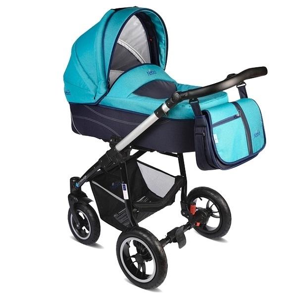 Детская коляска Noordline Beatrice Alu 2 в 1 (голубой)
