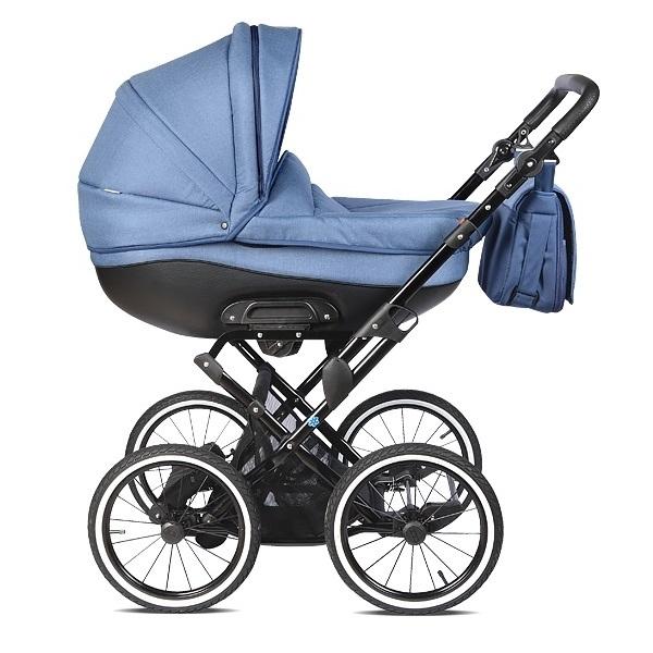 Детская коляска Noordline Olivia Classic 2 в 1 (синий)