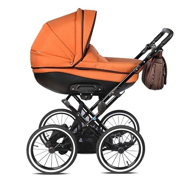 Детская коляска Noordline Olivia Classic 2 в 1 (оранжевый)
