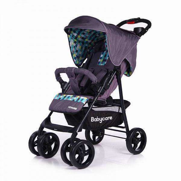 Детская прогулочная коляска Baby Care Voyager (фиолетовый)
