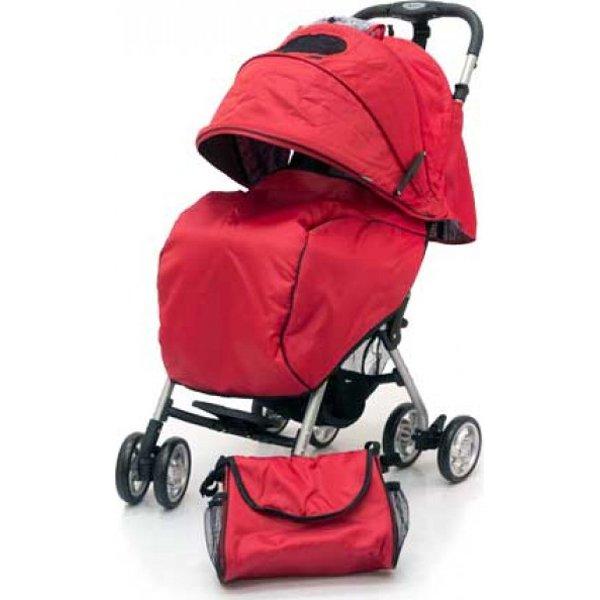 Прогулочная коляска Jetem Elegant (красный)