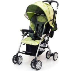 Прогулочная коляска Jetem Elegant (зеленый с рисунком)