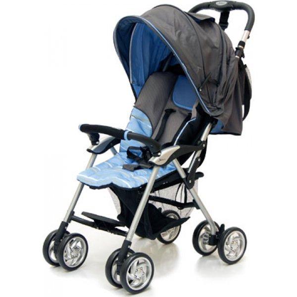 Прогулочная коляска Jetem Elegant (серый/голубой)