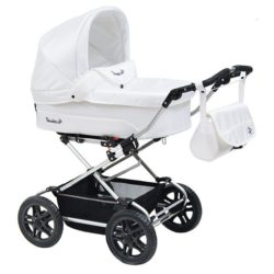 Детская коляска Reindeer Nova 2 в 1 (белый)
