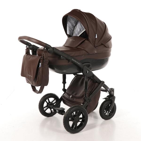 Детская коляска Noordline Stephania 2 в 1 (темно-коричневый)