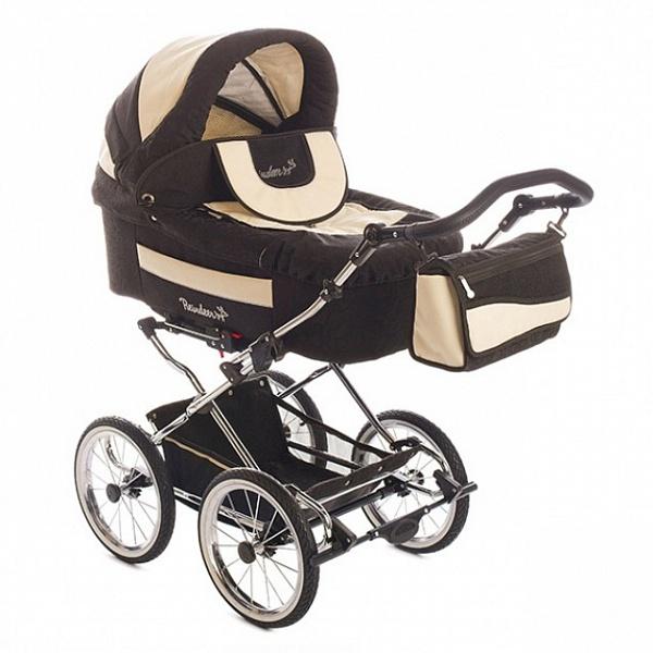 Детская коляска Reindeer Retro 3 в 1 (коричневый)