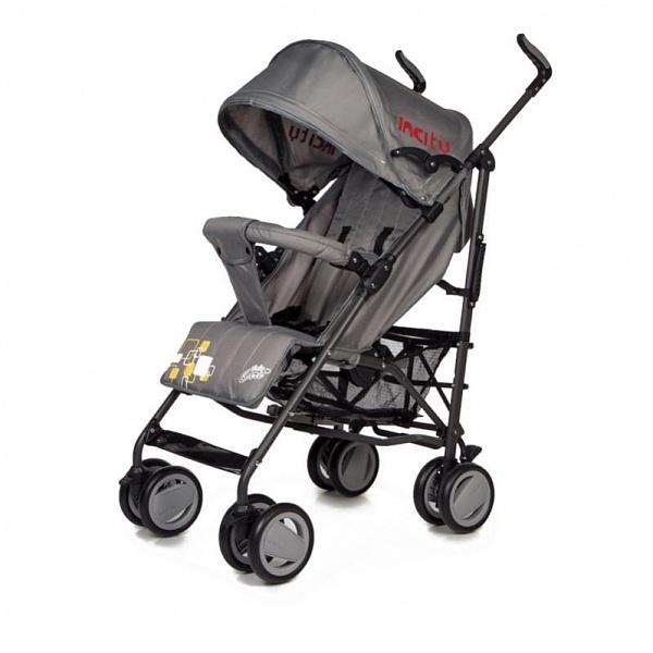 Детская коляска-трость Baby Care In City (темно-серый)