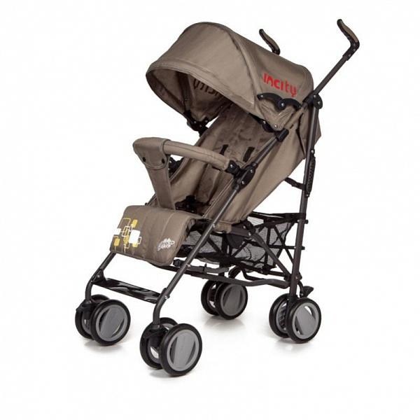 Детская коляска-трость Baby Care In City (темно-коричневый)