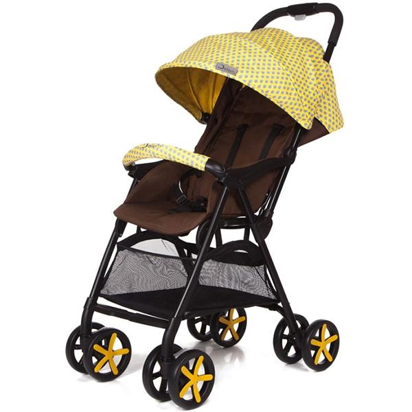 Прогулочная коляска Jetem Carbon (желтый)