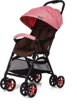 Прогулочная коляска Jetem Carbon (розовый)