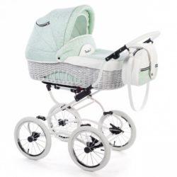 Детская коляска Reindeer Prestige Wiklina 2 в 1 (зеленый)