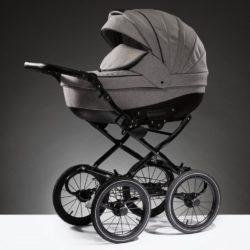 Детская коляска Esperanza Lotus Boss Classic 2 в 1 (Серый)