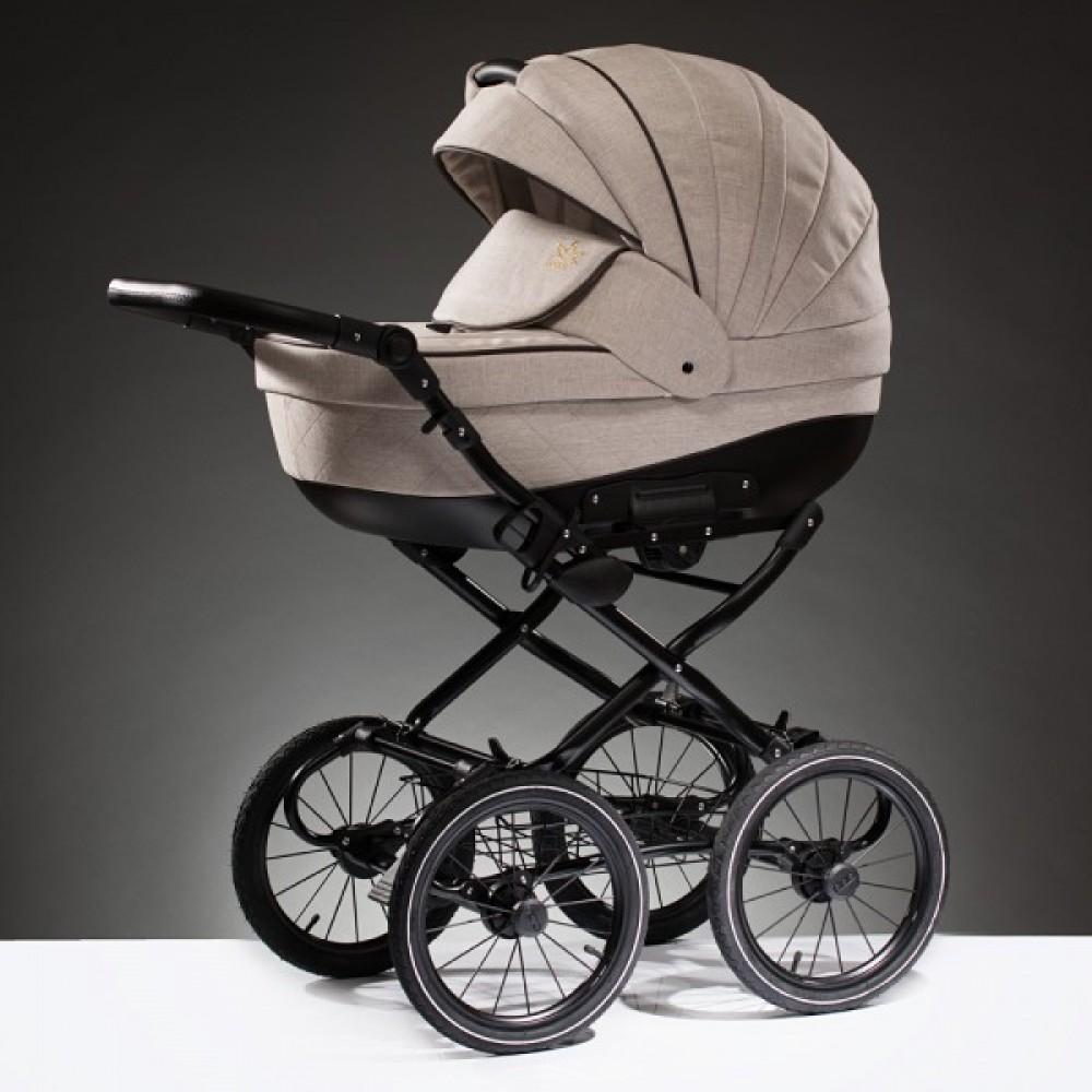 Детская коляска Esperanza Lotus Boss Classic 2 в 1 (Бледно-розовый)