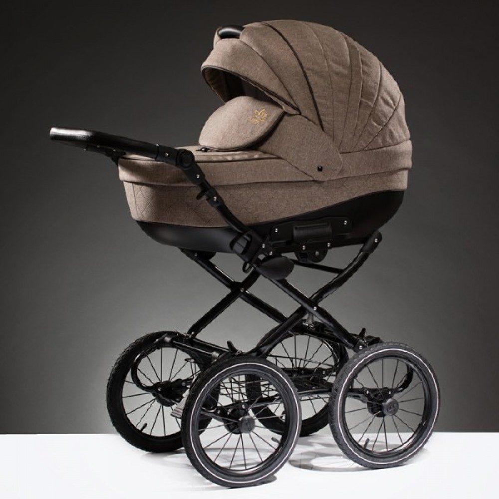 Детская коляска Esperanza Lotus Boss Classic 2 в 1 (Светло-коричневый)