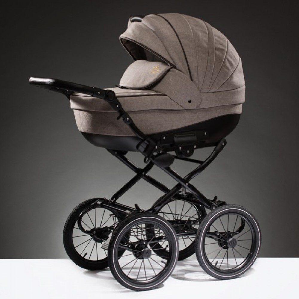 Детская коляска Esperanza Lotus Boss Classic 2 в 1 (Бежевый)
