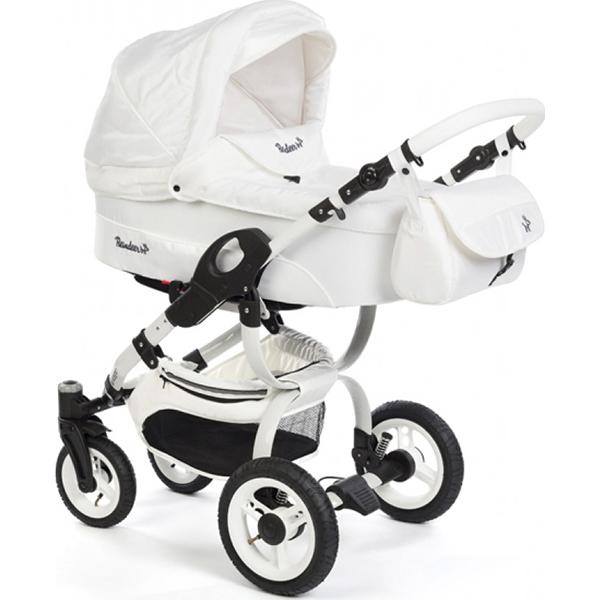 Детская коляска Reindeer City Nova 3 в 1 (Белый)