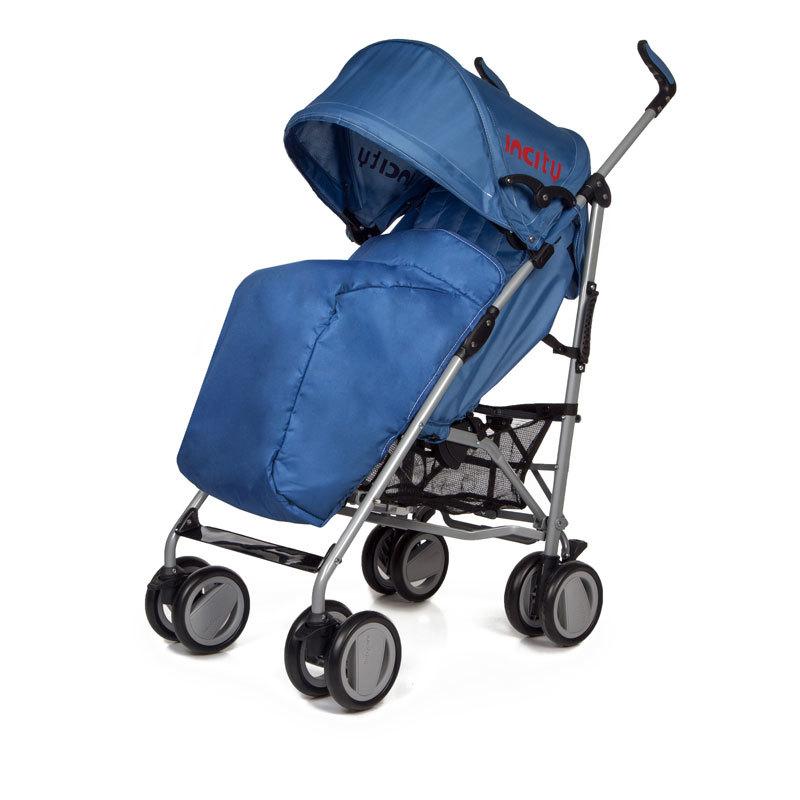 Детская коляска-трость Baby Care In City (темно-синий)