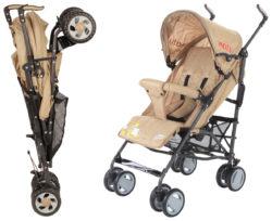 Детская коляска-трость Baby Care In City (коричневый)