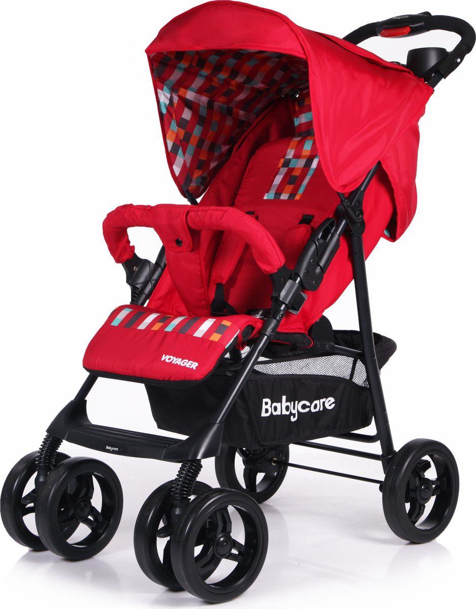 Прогулочная коляска Baby Care Voyager (красный)