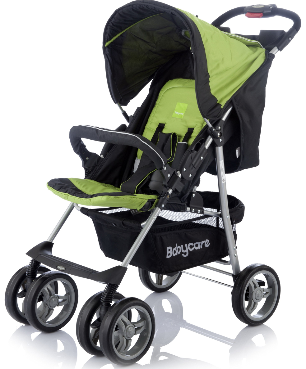 Детская прогулочная коляска Baby Care Voyager (зеленый)