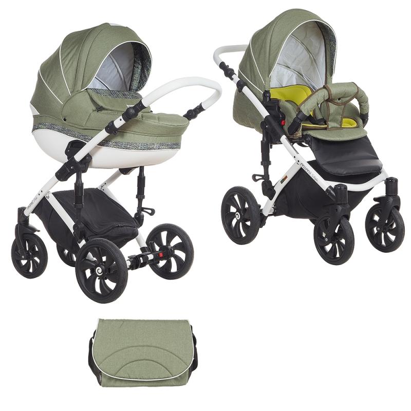 Детская коляска Tutis Mimi Style 3 в 1 New 2018 №337 (Зеленый)