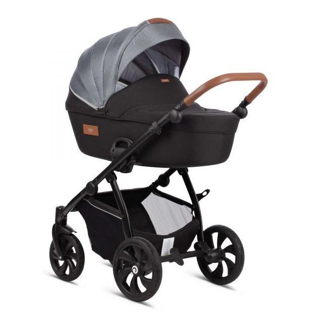 Детская коляска Tutis Aero 2 в 1 New 2019 №107 (Черный-Серый)