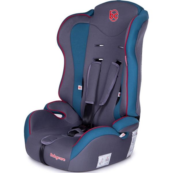 Детское автокресло Baby Care Upiter (Серый/голубой)