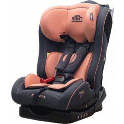 Детское автокресло Rant Fine Line Fiesta (Чёрный/оранжевый)