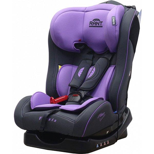 Детское автокресло Rant Fine Line Fiesta (Чёрный/фиолетовый)