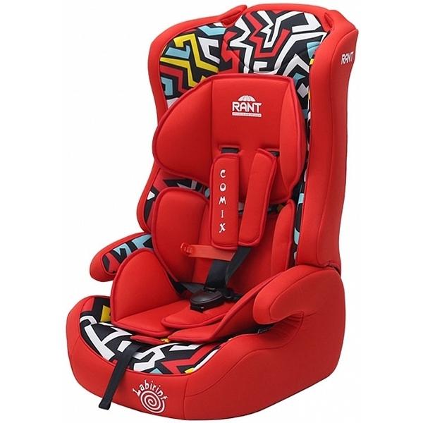 Детское автокресло Rant Labirint Comix (Красный)